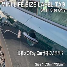 MINI LABEL TAG スモールサイズのみも販売します。