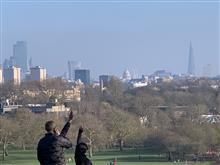 王立公園からロンドン市街眺望を愛でてみる!