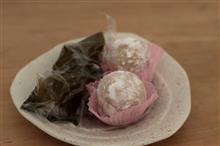 季節の和菓子・・・甘味屋
