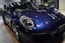 「施工期間中代車無料」ポルシェ 911のガラスコーティング【リボルト神戸】