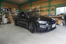 BMW M4CS(F82)のスピーカー交換