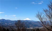 和田峠からの山並み