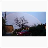 今回の虹は観られました…_( ...