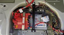 BMW F10のバッテリー交換!