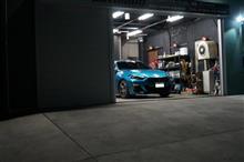 ys special ver.2 施工中 BMW X1 2層目のガラス被膜塗り込み完了です^^