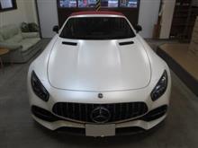 メルセデス・ベンツ Mercedes-AMG GT C、採寸&装着確認(完成)