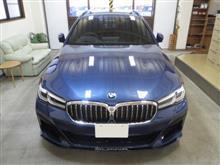 BMWアルピナ B5ビターボ ツーリング オールラッド、採寸&装着確認(完成)