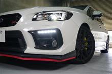スバル WRX STI/S4用ドライカーボン製フォグランプカバー予約販売開始!