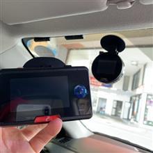 2カメラ一体型ドライブレコーダー取り付け!!