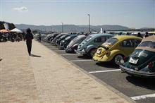 "Air-cooled VW meeting ""Orange Bug"" at Kataonami Wakayama"