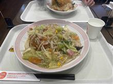 きのうのお昼飯ランチ麺はひさしぶりのリンガーハット