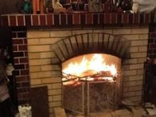 暖炉の煙で大騒ぎ