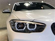 コンパクトでもパワフル!BMW140iのガラスコーティング【リボルト高崎】