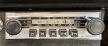 50年以上前のPhilipsのカーラジオ 右下がりの周波数の謎