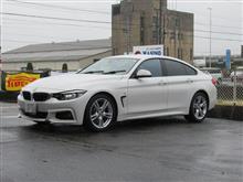 タイヤショップしてます...BMW F36グランクーペ 420i YHデシベル
