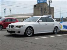 これもメンテナンス..BMW E60 ディクセルPDブレーキローター交換