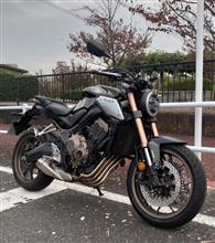 4気筒ネイキッドバイク - CB650R試乗