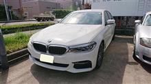 BMW530i シート傷リペア補修