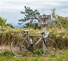 今日のサイクリング --- 山と海。