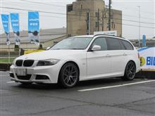 メンテナンスは大事..BMW E91 エンジンオイル+エレメント交換 4CT-S