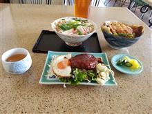 飛島のレトロ食堂にてカツ丼と肉うどんを愉しむ
