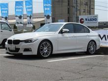 トータルアライメント調整...BMW F30 320d ビルシュタインB12
