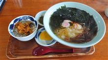 さんずろ家 蒸しウニ丼セット(海鮮ラーメン)