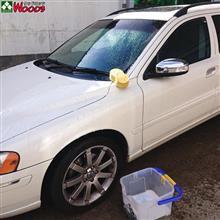 本日洗車デー 2台まとめて洗車!