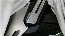 ガスヒーターの掃除とADVのタッチアップ