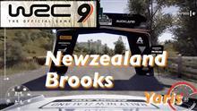 【WRC 9 攻略】ニュージーランド Brooks 道幅が広くて走りやすい New zealand Yaris 2021.4