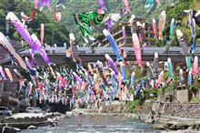 2021/5/9 杖立温泉の鯉のぼり