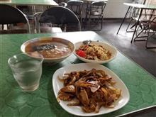 レトロ食堂藤屋にてラーメンと焼肉と焼き飯を愉しむ