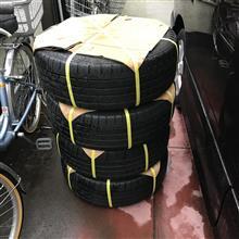 タイヤ到着♪