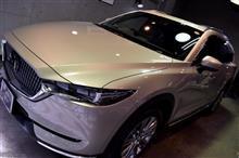 フラッグシップSUV マツダ・CX-8のガラスコーティング【リボルト川崎】