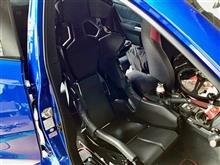 """スバルWRX STI VABのパフォーマンスを存分に堪能するためにRECAROを投入。新時代の本格フルバケットシート""""RECARO PRO RACER RMS 2700G""""を装着しました!!"""