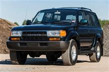 1k-Mile 1994 Toyota Land Cruiser FZJ80