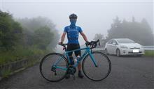 【自転車】早朝霧の峰山