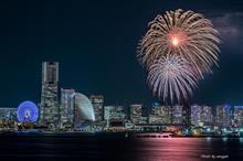 横浜開港祭花火行ってきました