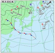 2021年・関東甲信梅雨入り #梅雨入り #梅雨前線 #気圧の谷 #寒気