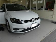VW ゴルフにソニックデザインの取付です。