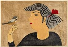 千葉市立美術館の「平木コレクションによる 前川千帆展」に伺って来ました。