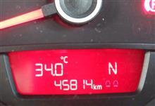 暑すぎる…