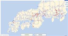 高速道路混雑状況(2021-07-22)