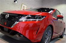 『乗ればわかる、電気のたのしさ。』新型日産ノートe-POWERのガラスコーティング【リボルト札幌】