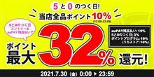 auPAYマーケット店本日ポイント最大32%!【AUTOWAY】