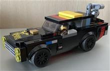 レゴ魔改造w:タテグロバン改ワゴン(コンセプトw)です♪