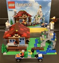 レゴクリエイターの山小屋(マウンテンロッジ)です♪