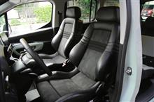 BERLINGO XL のシートを RECARO DSE へ換装(2929km)