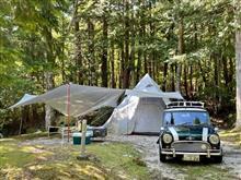 南木曽 蘭キャンプ場・・・