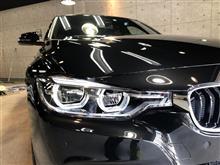 やっぱり美しいプレスラインを見てほしい!BMW320dのガラスコーティング【リボルト高崎】